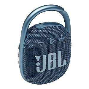 Caixa de Som Bluetooth JBL Clip 4 Azul