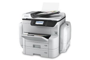 Impressora Multifuncional Epson Wf-C869R C11Cf34201