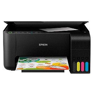 Impressora Multifuncional Epson Ecotank L3150 Colorida, Jato de Tinta, Wi-Fi, Bivolt