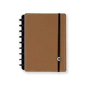 Caderno Inteligente Médio Caramel