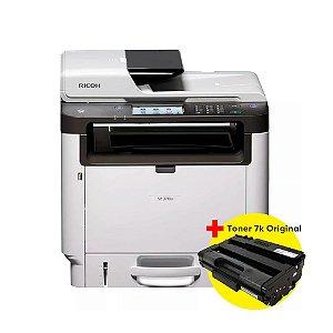 Impressora Multifuncional Ricoh Sp 3710Sf + Toner Ricoh Aio Sp 3710 Original 7K BRINDE