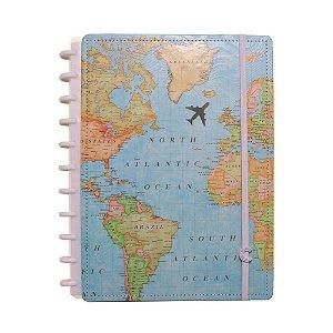 Caderno Inteligente By Gocase Mapa Mundi Grande