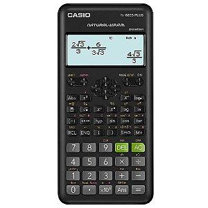 Calculadora Científica Casio FX-82 ESPLUS-2 Preta 252 Funções