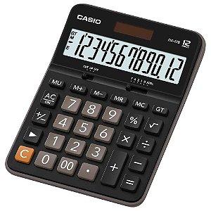 Calculadora de Mesa Casio DX-12B Preta