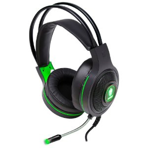 Headset Gamer Evolut Temis EG301GR Verde