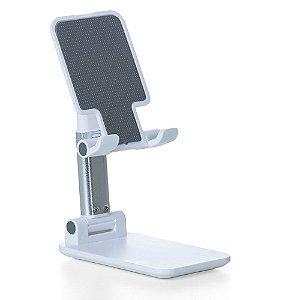 Suporte de Mesa Ajustável e Retrátil MXtech Para Celular e Tablet
