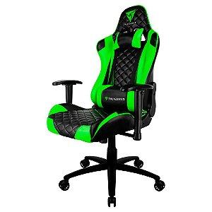 Cadeira Gamer Profissional TGC12, Thunderx3, Preta e Verde