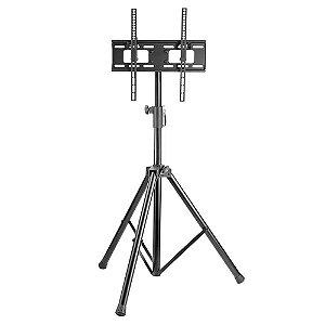 Suporte Pedestal ELG Tripé com Altura Regulável P/ TV A06V4