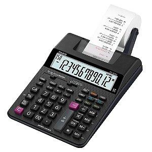Calculadora Com Bobina Casio HR100RC BK-B-DC Preta