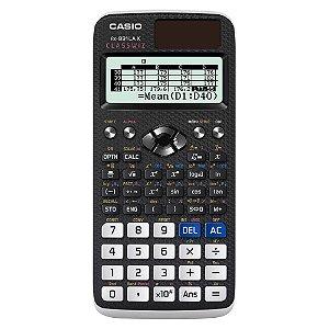 Calculadora Científica Casio FX991LAX BK-S4-DH Preta, 552 funções
