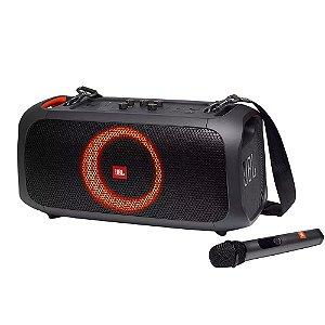 Caixa de Som JBL PartyBox On-The-Go 100W Bluetooth