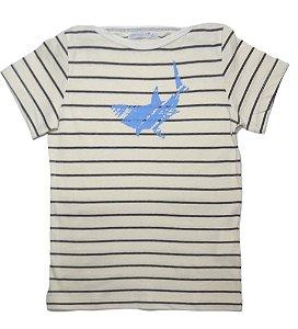 Camisa Bateau Malha
