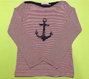 Camisa Manga Longa Navy