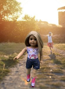 Patins Para Boneca American Girl