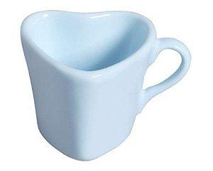 Xicara Coração - Azul - 120 ml