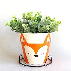 Vaso Cerâmica Fox