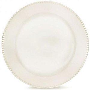 Prato Raso Perla Branco - 27 cm