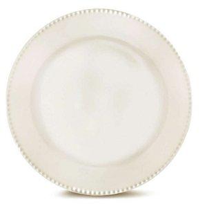 Prato Sobremesa Perla Branco