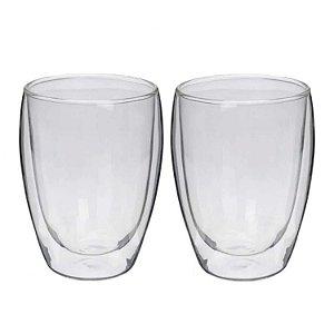 Conj. Copos para Chá/ Drinks Dupla Parede - 260 ml