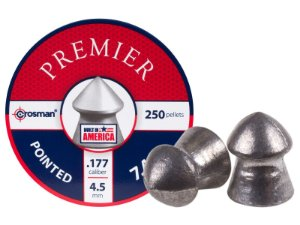 Chumbinho Premier Crossman .177 4,5mm 7.4gr 250unid Pointed