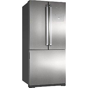 Refrigerador Brastemp Side Inverse BRO80 540 Litros Ice Maker Evox 220v