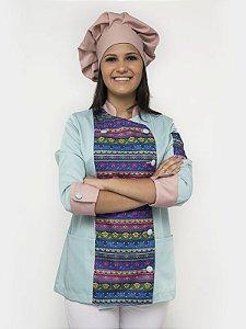 Dólmã Chloé Com Touca Chef