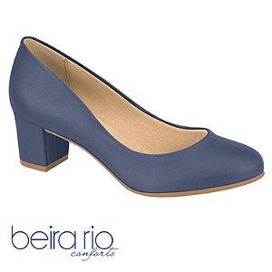 Sapato Scarpin Salto Grosso Beira Rio