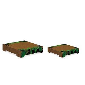 KIT SUPORTE P/ DOCES C/2 UN SAFARI - PC X 1