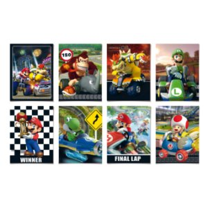 CARTAZ DEC C/8 MARIO KART SORT - UN X 1