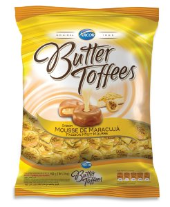 B 600G BUTTER TOFFES MARACUJA - PC X 1