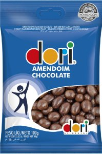 AMENDOIM 100 G CHOCOLATE - PC X 1