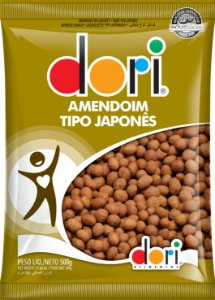 AMENDOIM 500 G JAPONES - PC X 1