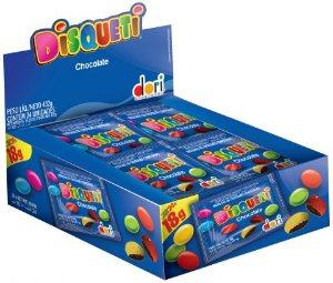 DISQUETI 18 G CHOCOLATE - CT X 24