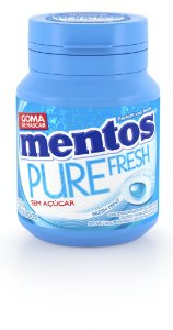 MENTOS 56 G PURE FRESH MINT - UN X 1