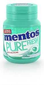MENTOS 56 G PURE FRESH MENTA VED - UN X 1