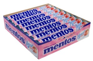 MENTOS 37,5 G YOGURT - CT X 16