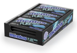 MENTOS 8,5G PURE FRESH STRONG - CT X 15