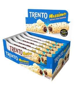 WAFER 30G TRENTO MASSIMO BCO COM COOKIES - CT X 16