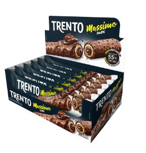 WAFER 30G TRENTO MASSIMO DARK - CT X 16