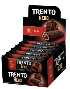 WAFER 22G TRENTO NERO 55% DARK - CT X 16