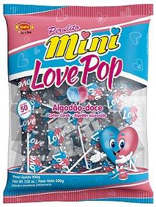 PIR 200G MINI LOVE POP ALGODAO DOCE - PC X 1