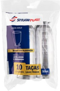 TACA 50ML LICOR C/10 CRISTAL - PC X 1