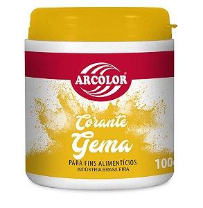 CORANTE 100G ARCOLCOR AMARELO GEMA - UN X 1