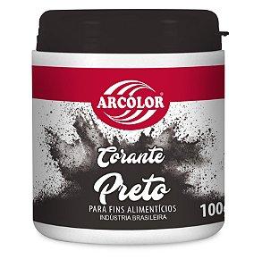 CORANTE 100G ARCOLOR PRETO - UN X 1
