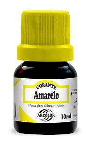 CORANTE 10ML ARCOLOR AMARELO - UN X 1