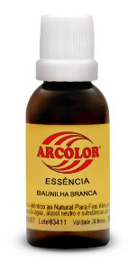 ESSENCIA 30ML ARCOLOR BAUNILHA BRANCA - UN X 1