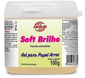 SOFT BRILHO 100G P/PAPEL DE ARROZ - UN X 1