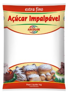 ACUCAR IMPALPAVEL EXTRA FINO 1kg - UN X 1