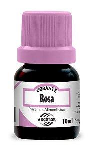 CORANTE 10ML ARCOLOR ROSA - UN X 1