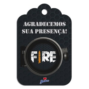TAG AGRADECIMENTO C/8 FIRE JUNCO - PC X 1